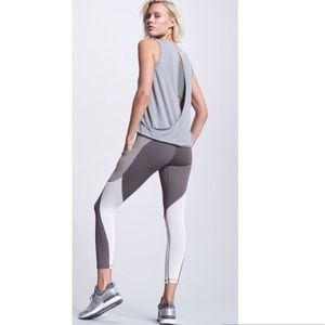 NWT ATHLETA Colorblock Up For Anything 7/8 Tight Leggings